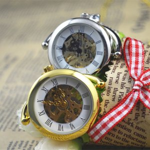 Rotary Pendant Mechanical Desktop Jewelry Pocket Watch