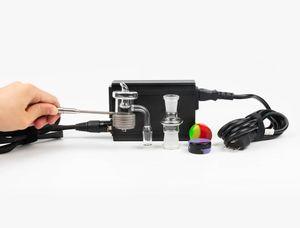 Good quality OD 25mm Male enail banger E-nail Coil Heater 110V 100W Coil Heater Electric Dab Nail Pen Rig Wax Box kit