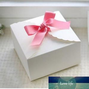 White Lace modello Scatola di cartone, Confezione regalo, caramelle matrimonio