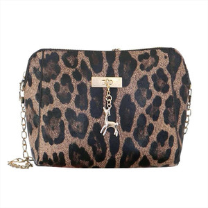 Women Leopard Fashion Trendy Bag Female Brands Handbag Casual Crossbody Messenger Bag Shoulder Bags