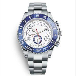 Верхняя часы керамическая рамка яхта 44 мм автоматическое движение механические мужские часы из нержавеющей стали Master WritWatches Orologio Da Uomo подарок
