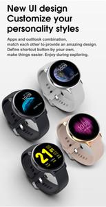 Drop Shipping Waterproof Men Women Screen Wrist Watch Fitness Tracker Heart Rate Sleep Fitness Sport Watch