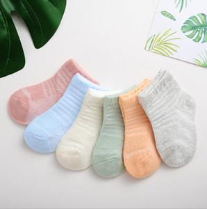 Bebé Primavera y otoño Nuevo Bebé Calcetines Niños Dibujos Animados Thin Flow Boot Socks Boys and Girls Socks recién nacidos HWF3426