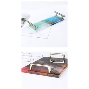 Big Rectangle Plate Resin Mold For Diy Uv Sile Mould Coaster Fruit Tea Tray Art Craft Jewelry Displ bbyHKe
