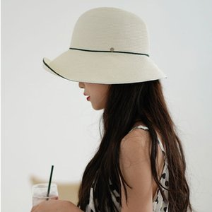 MAXSITI U Simple and irregular women's elegant foldable basin hat summer high end Fisherman Hat Women's outing straw hat 201009