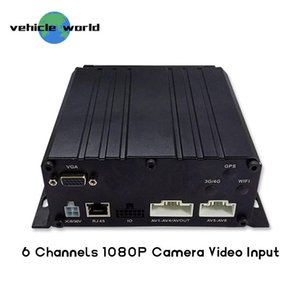 1080P 6CH كامل HD DVR السيارة المتنقلة لجميع المركبات