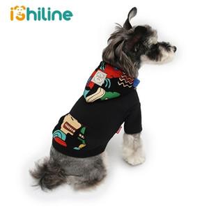 Cães casaco vestuário teddy novo cão suéteres moda cães com capuz roupas esportes hoody hoody puppy pet pano 201026