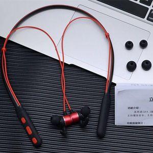 Neckband Earphone Trending Wireless Bluetooth Headphone Waterproof Neckband Earphone with Magnetic Connect Sport Headset for Running