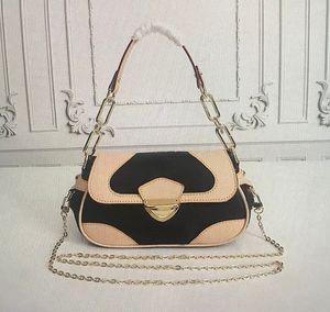 2020 high quality new Hot sale Top Quality Fashion METIS Handbags Purses Classic metal Chain Hasp Mono Bag Women Tote Leather Shoulder Bags
