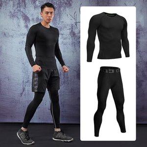 Qualidade Sportswear High Men's Sport Ternos de Secagem Rápida Runners Runners Sports Fitness Facts
