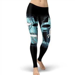 2020 New Design Spirited Away Women Leggings Fitness Nigihayami Kohakunushi Leggins Printed Legging For Woman Pants