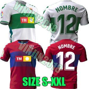 20 21 Elche CF Futbol Formaları Eve Uzakta Rodriguez Pere Milla Iván Marcone Fidel Calvo Milla Josan Raúl Guti 2020 2021 Futbol Gömlek Tops