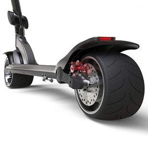 Skateboarding Tragbarer Smart Folding E-Scooter Erwachsener Elektrischer Roller mit 9-Zoll-rutschfester fester Reifen1