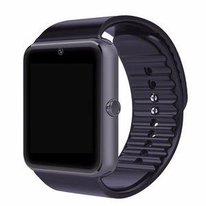 GT08 بلوتوث ووتش الذكية مع فتحة بطاقة SIM وNFC للساعات الصحة لالروبوت الهاتف الذكي سامسونج سوار ساعة ذكية
