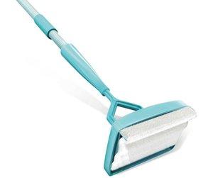 Battiscopa compagno di pulizia Mop di plastica semplicemente a piedi Glide allungabile in microfibra polvere Spazzola per pulizia in microfibra Mop Cleaner