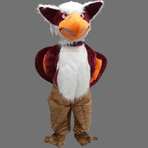 2019 hot Adult size Animal Griffin mascot custom Xmas Eagle Male fancy dress costume Shool Event Birthday Party Costume Mascot