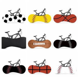 prova di biciclette copertura antipolvere Moda Sport Basket Calcio stampato elastico Moto Bike polvere caso di pioggia la prevenzione Set WY336w