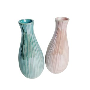 Nordic plastic vase household flower arranger living room modern creative simple small fresh home decoration furnishing pieces