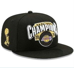 Snapback 2020 Los Angeles hats LAKER 23 JAMES LAL MIA Finals Champions Hats Adjutable Snapbacks Strapback Casquette cap men women bone a11