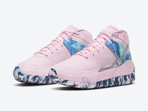 Zoom KD 13 Aunt Pearl Pink Cancer Awareness Shoes With Box Kevin Durant 13s Men Women Sports Sneakers Size 4-12