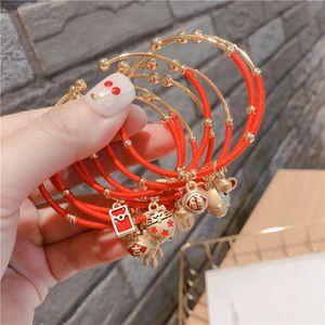 style coréen rouge chinois Zodiacs année de naissance production réglable style coréen rouge braceletChinese Zodiacs bracelet année de naissance réglable Br