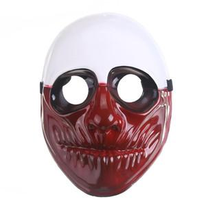 Kreative Halloween Masquerade volle Gesichtsmaske Game Ernte Tag Filme Themen Maske Make-up Ball Kostüm Cosplay Werkzeuge VT1038