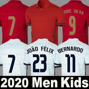2020 2021 Portugal Fußball Trikot soccer jersey football shirts 2018 RONALDO ANDRE SILVA WM PEPE J.MARIO QUARESMA BERNARDO NANI EDER Nationalmannschaft beste AAA Thailand-Qualität