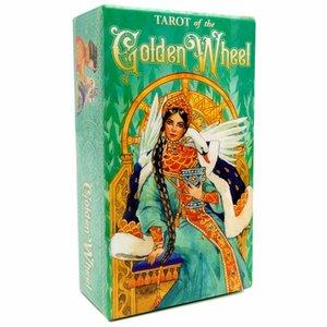 Tarocchi del Golden Wheel 78 Carte Deck Russian Edition Inspired By Fairy Tales Mila Losenko Aeclectic Crisp Divinazione Gioco yxlKKx