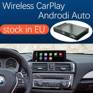 واجهة Carplay لاسلكية ل BMW 1 2 Series F20 F21 F22 F22 F22 F23 F25 2011-2016 CIC NBT، مع الروبوت مرآة رابط AirPlay سيارة اللعب