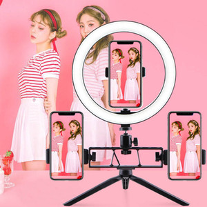 10 Inch Dimmable LED Ring Light With Tripod Stand Phone Holder For Selfie Live Streaming And Makeup Light