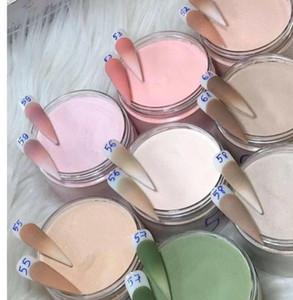 Colección de polvo acrílico de 20bottle / lote, polvo de acrílico desnudo, suministros de uñas, esmalte de uñas desnudo, cosméticos de uñas, arte, acrílico,
