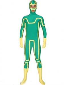 Costume costumes d'Halloween Zentai lycra cospaly Kick-Ass Spandex Superhero