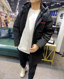 Homme Designers Vêtements Hoodie Poches Lettre Triangle Veste Mens Hiver Manteaux Hommes Designers Sweaters Hommes Vêtements Noir Blanc