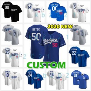 Dodgers Baseball Jerseys Mookie Betts Corey Seager Max Muncy Cody Bellinger Justin Turner Mike Piazza Chris Taylor Jackie Robinson Kershaw