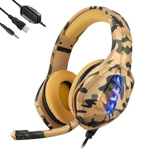 Gaming Headset USB 3.5mm Wired Headphone Deep Bass Gamer Earphone Surround Sound & HD Microphone for PS4  PS5  XBOX PC Laptop