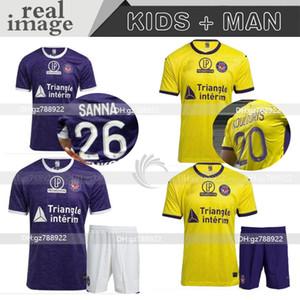 FC Toulouse Soccer Jerseys 20 21 الصفحة الرئيسية Third 2020 2021 Sangare 17 Diakite 19 KONE 34 Gradel 7 قال 25 Sylla 12 Jersey Football Shirts