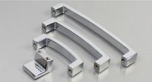 Diamante Europeo Diamante Mangos de cristal Decoración del hogar Moderno Minimalista Cajón Drawer Door Door de la aleación de zinc Pulls HHE4093