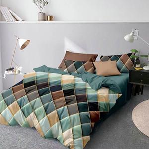 Bed LOVINSUNSHINE geometrica Duvet Cover Comforter Bedding regina re biancheria XX02 # 1012
