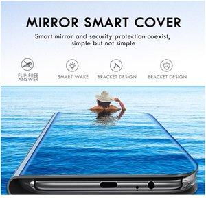 Smart Mirror Phone Case For Xiaomi Redmi Note 9s 9 8 7 5 6 Pro 8t 4x Redmi 9 9 jllUpR