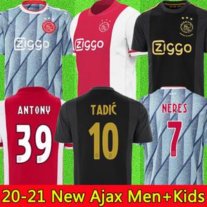 20 21 أجاكس أمستردام FC كرة القدم جيرسي 2020 2021 قدوس ANTONY BLIND PROMES تاديتش NERES كرويف قميص الرجال الاطفال عدة كرة القدم الزي الرسمي 50 الثالث