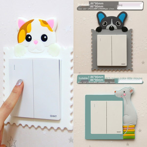 71yY2 sticker soft sticker luminousstereo switch covershipping glue protective cover simple decorative socket
