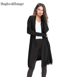 Spring New Women Women manteau Veste Overcoat 2020 Mesdames Mince Pull en tricot à manches longues à manches longues à la mode Cardigan Solide Cardigan Staled1