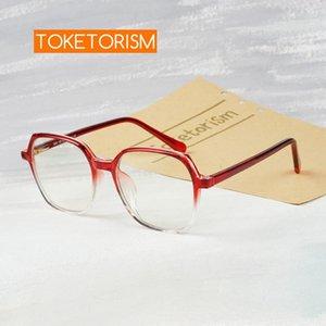 Очки Компьютерная синяя оптическая рабочая рамка для женщин Eyeglasses Anti Vintage Toketorism EMMRN