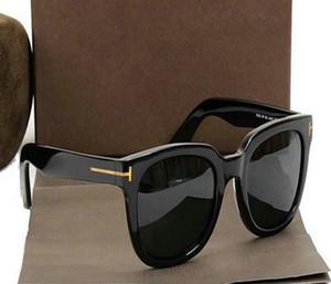 2020 новый круглый человек женщина женщина очки Том мода дизайнер квадратные солнцезащитные очки UV400 Ford Линзы Trend солнцезащитные очки TF0339 5178 52 с коробкой