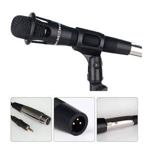 Handheld Condenser mini Microphone Multifuctional for Studio Video Recording Smartphones Computer Karaoke MIC with Audio Cable