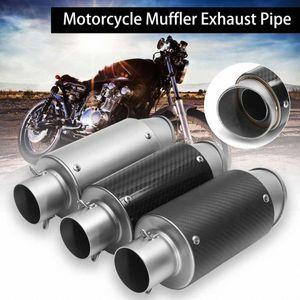 38-51mm de escape de acero inoxidable universal silenciador de la motocicleta tubo de escape para ATV Quad Para CB500 550 // Kawaki kSkz #