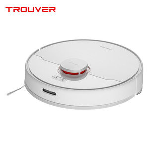 TROUVER Finder vacuum cleaner sweep robot wet mopping disinfection LDS laser navigation mijia mihome control APP virtual wall