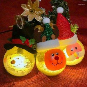 Festa romântica pingente pendurado bola decorações de Natal natal bola brilhante para ornamentos de gota de árvore em casa diy1