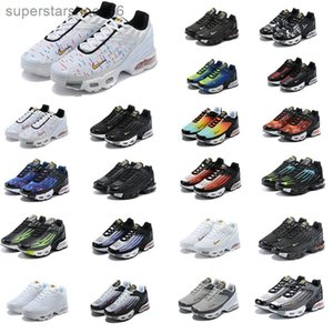 2020 Plus Iii 3 Tn Mens Designer Tuned Airings Running Shoes Classic Outdoor Tn Black White Sport Shock Sneakers Requin Blue Spider H