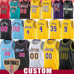 4 Alex Dwight Caruso Rajon Rondo Howard 39 Gewohnheit Jersey Jae Andre Crowder Iguodala Miami